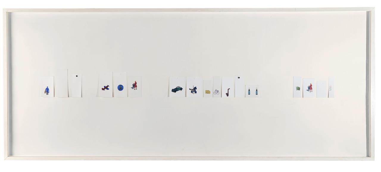 Taxonomías II. Impresión digital sobre papel de algodón. 70 x 200 cm. 2012